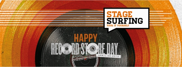 stagesurfing record store day 2013