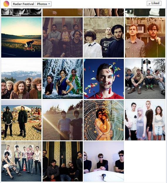 ScreenShot Radar Artists